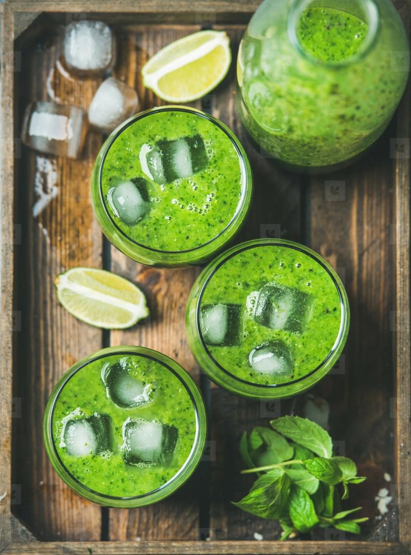 peut on congeler de la salade smoothie vert