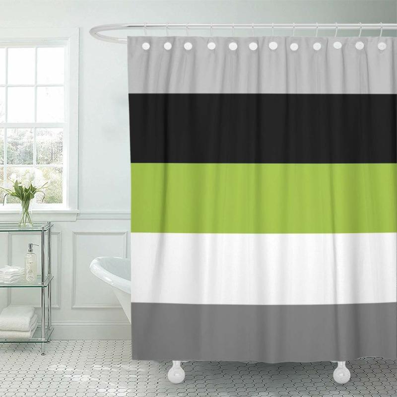 quelle couleur associer au gris foncé salle de bain en gris et vert
