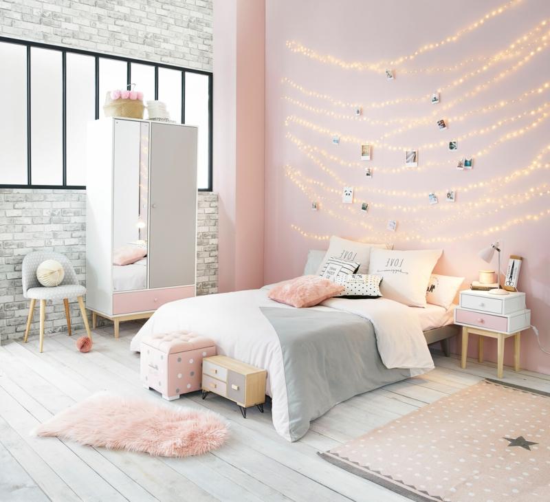 quelle couleur se marie bien avec le gris pour la chambre de ma fille