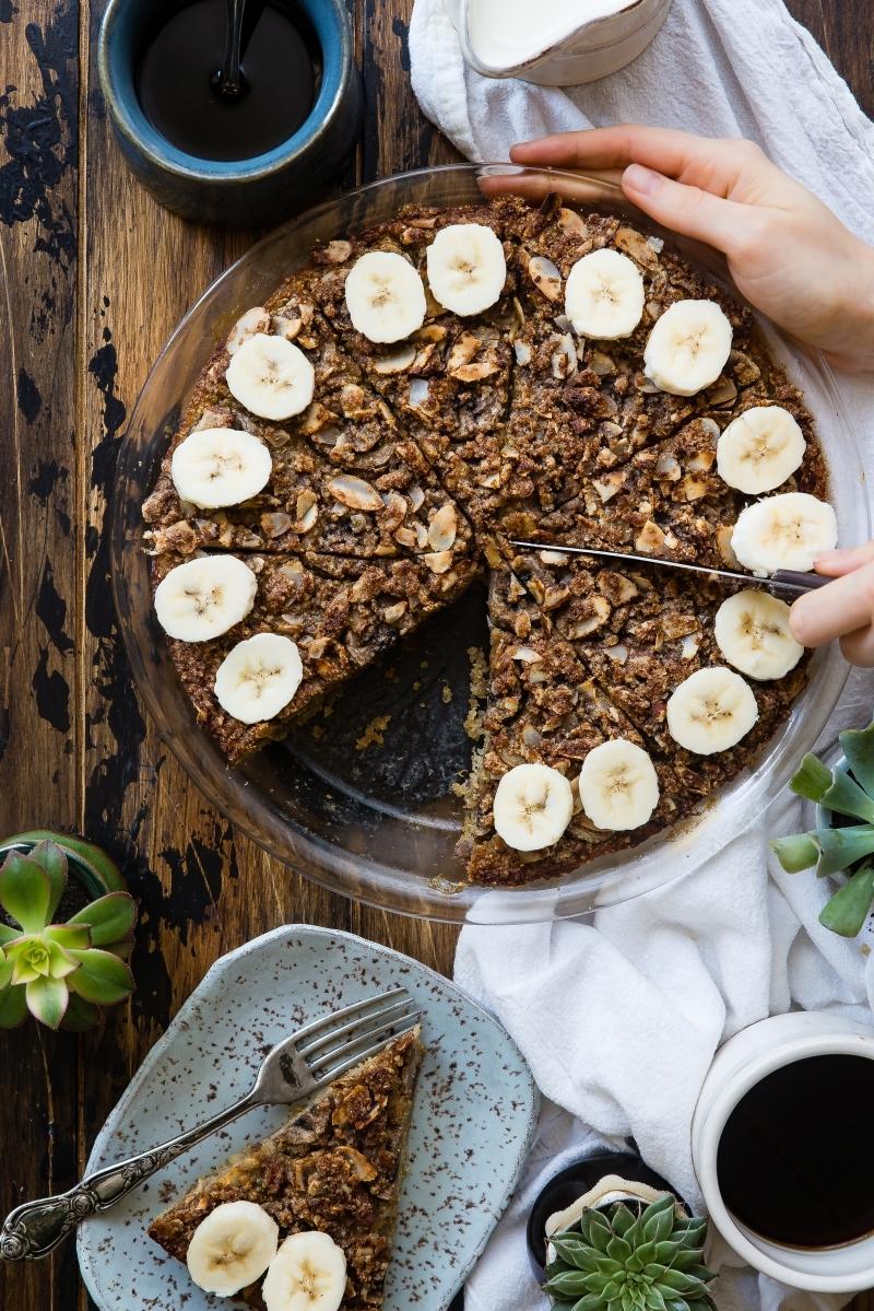 recette gateau a la banane plateau pâtisserie rond