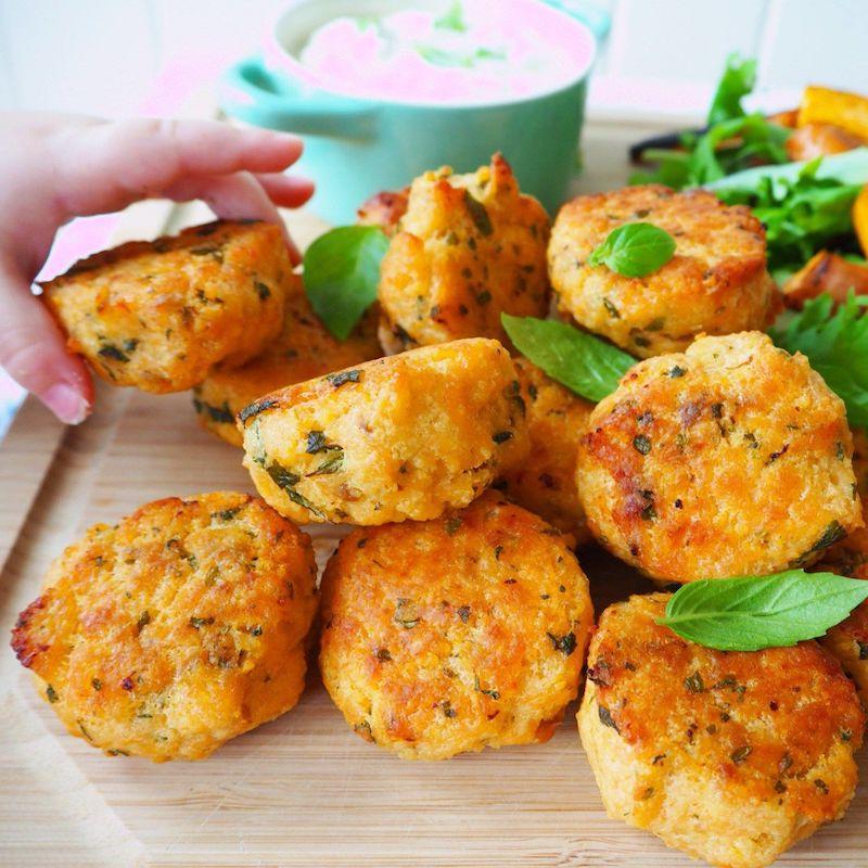 recette patate douce et pomme de terre galets croustillants
