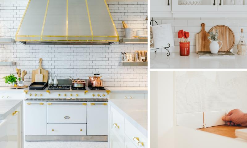 renovation cuisine changer crédence design moderne plan travail matéria