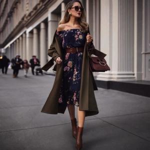 La robe d'automne 2021 pour adopter un look chic sans effort