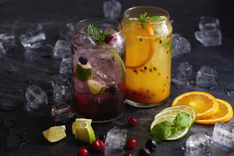 smoothie ananas mangue smoothie alcool au rhum et aux glaçons