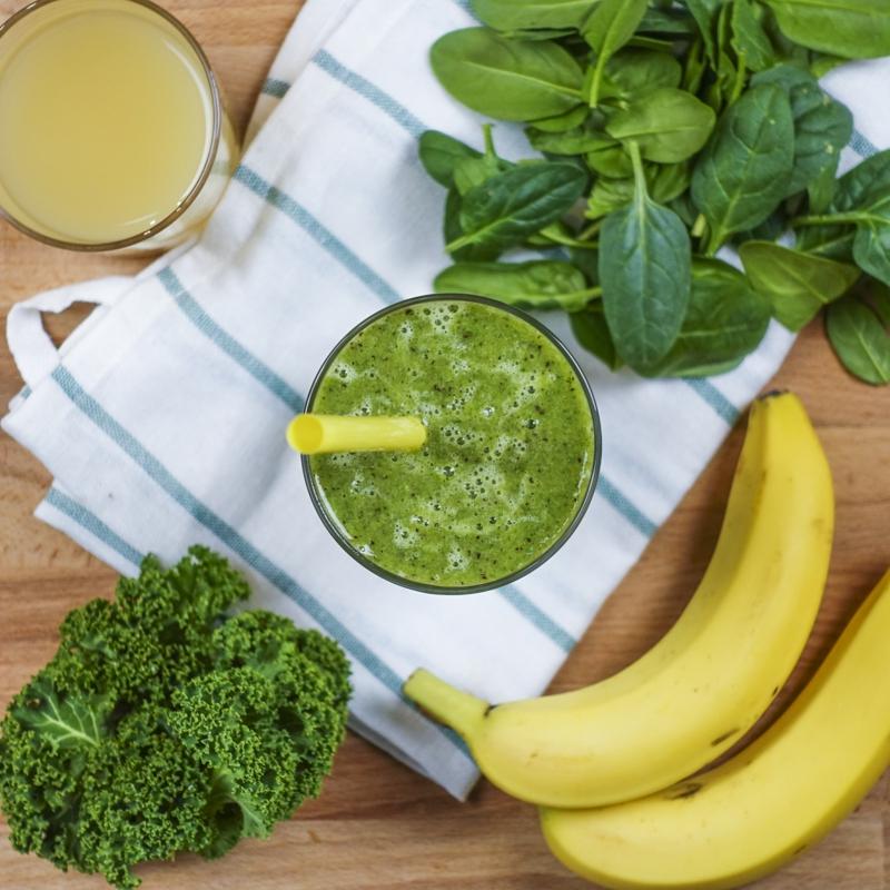 smoothie pour maigrir du ventre smoothie aux épianrds chou frisé et banane