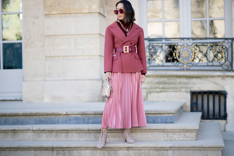 idée de tenue en rose