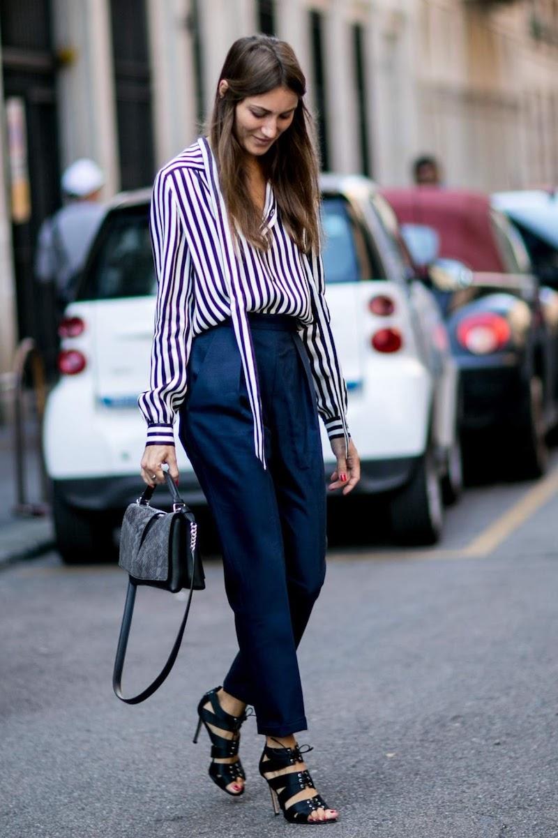 trouver son style vestimentaire femme en pantalon et chemisier