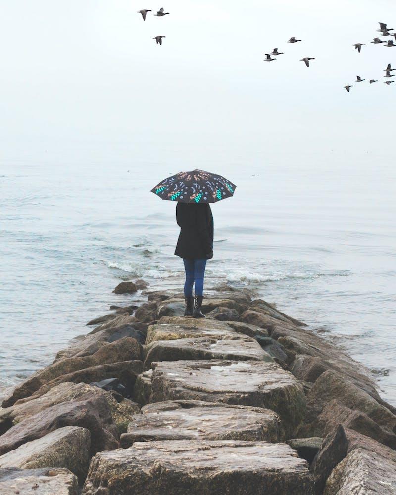 Le parapluie pour femme – l'accessoire indispensable pour parfaire son look de pluie