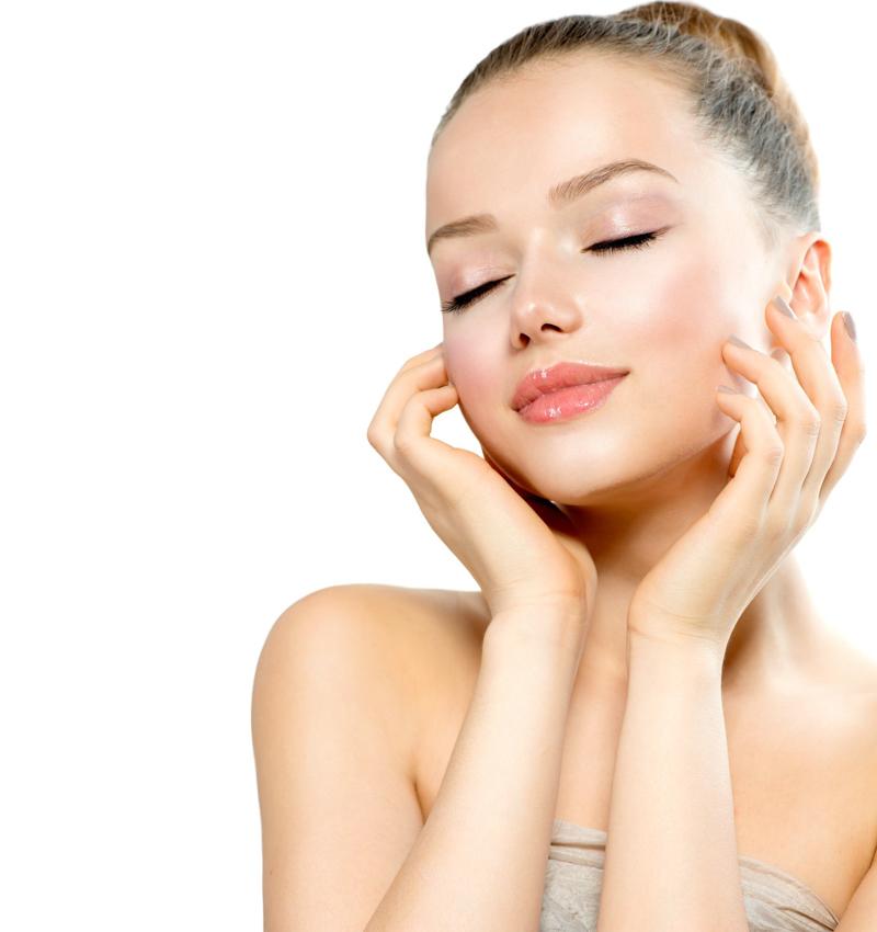 vitamine c naturelle femme avec une peau claire