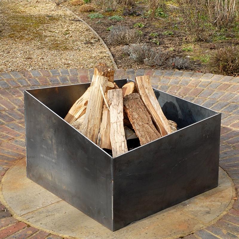 bricolage simple brasero barbecue fait maison cadre métal