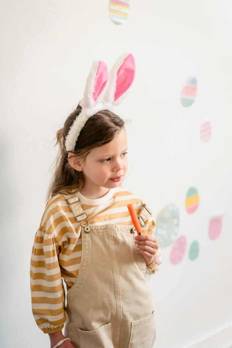 comment conserver les carottes une fille en habit de lapin