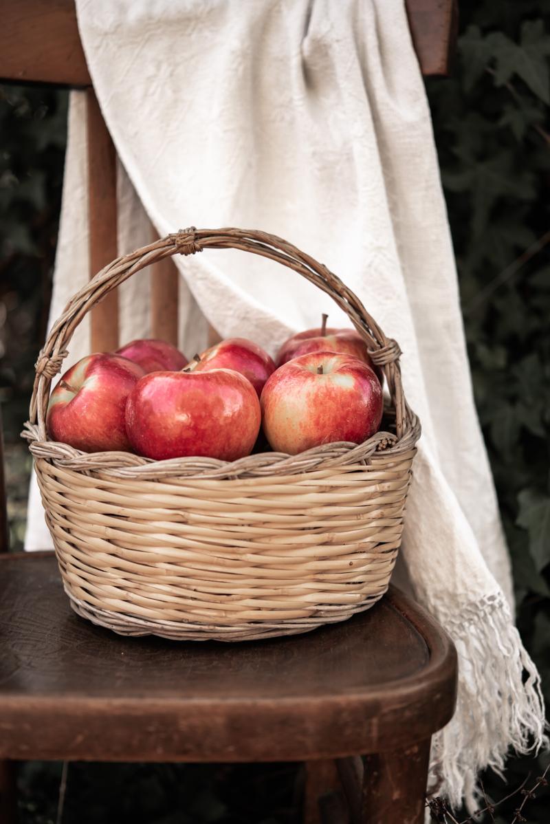 comment conserver les pommes photo esthétique d un panier de pomme 2