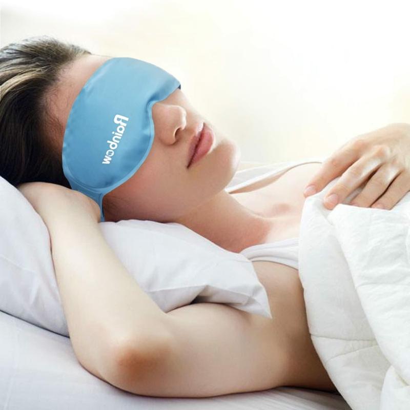 comment enlever les cernes en 5 minutes masque froide sur les yeux