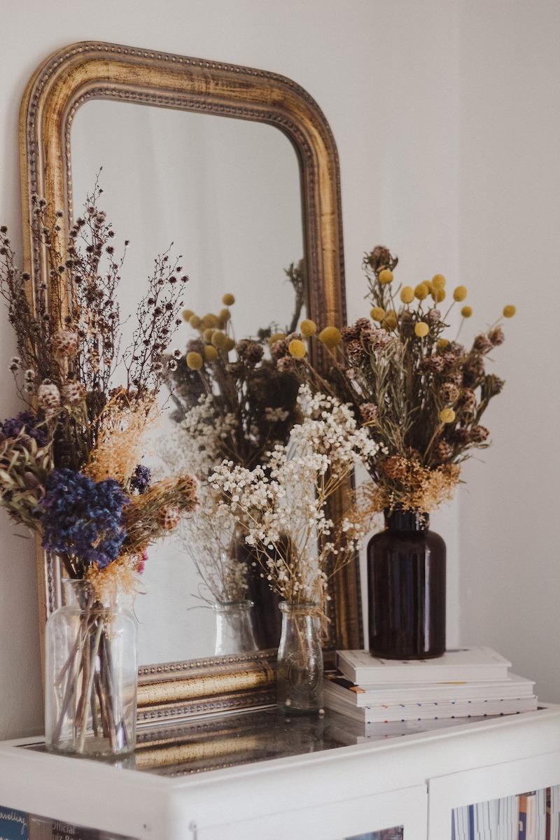 comment faire sécher des fleurs dans un vase brins fleuris pour la deco chambre