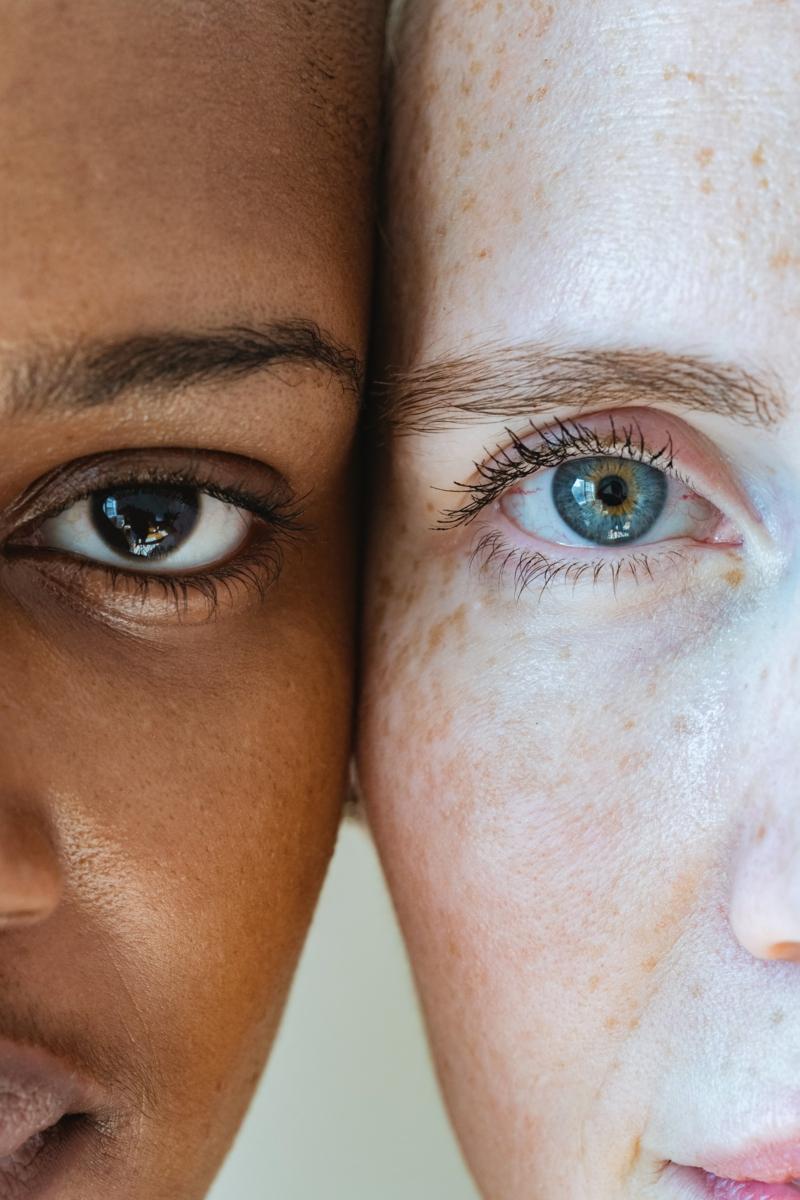 comment ne plus avoir de cernes deux filles avec des beaux yeux