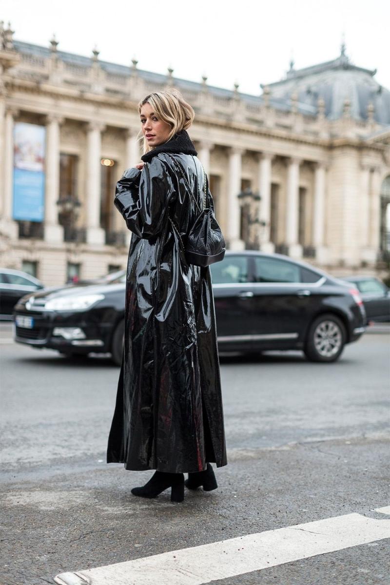 comment s habiller quand il pleut look total noir bottes velours