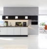 design cuisine contemporain modèle notting hill déco blanc et gris