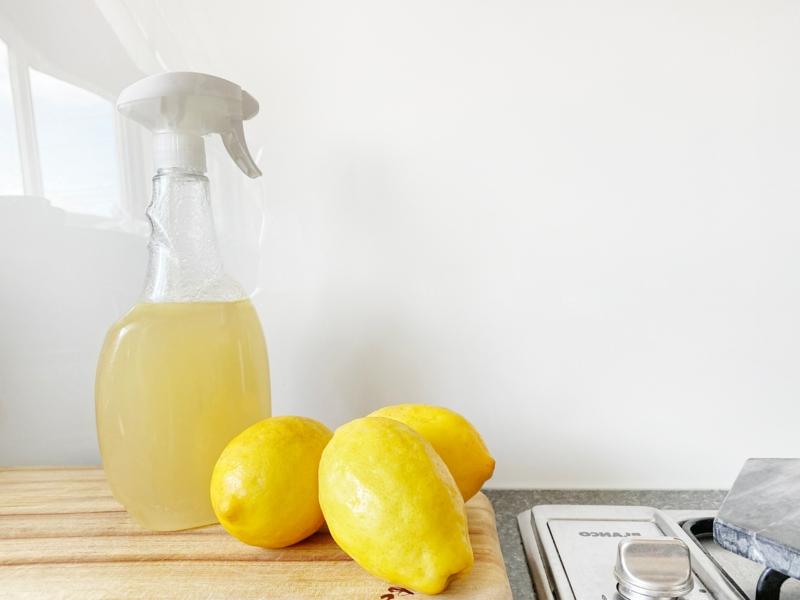 enlever odeur micro onde vinaigre blanc et citrons pour nettoyer