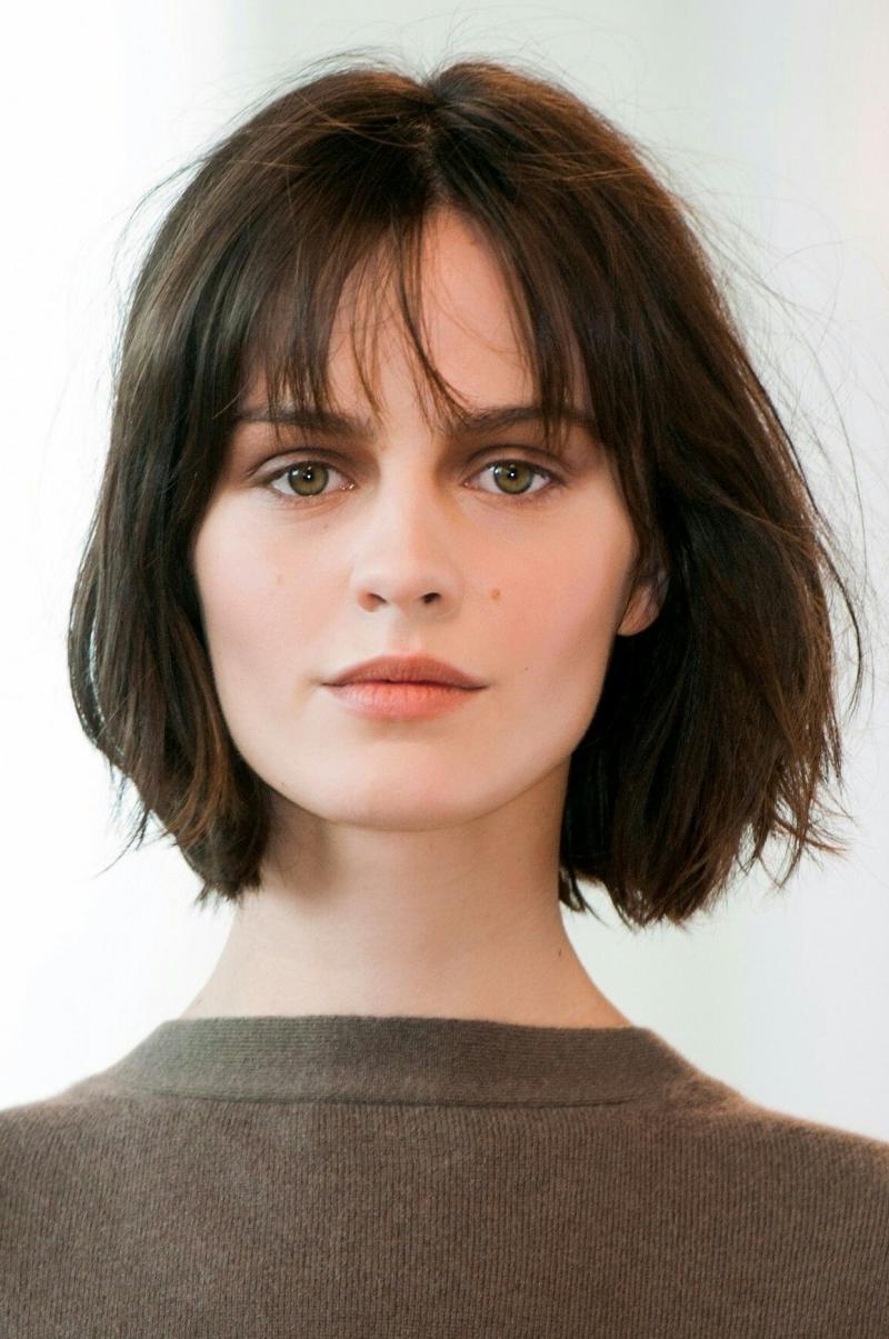idée coupe carré tendance 2021 cheveux courts femme