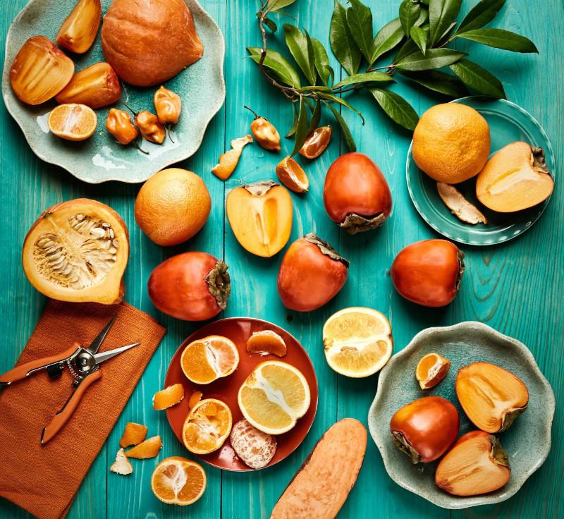kaki bienfaits plein de vitamines minéraux et fibres a manger tel quel