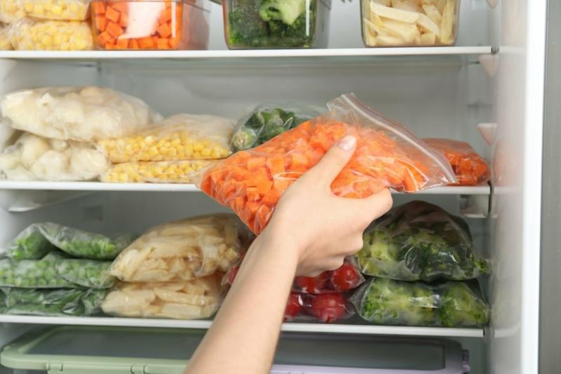 peut on congeler des carottes tranches de carottes dans un sac hermétique