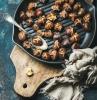 que faire avec des chataignes cuites a la poele recette facile a manger telles quelles en collation rapide