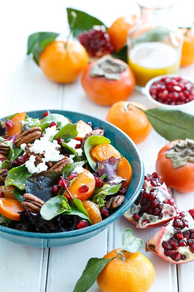 que faire avec des kakis ajouter a des salades soupes desserts plats principaux