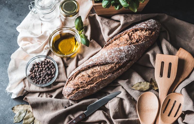 recette cetogene de pain bis huile d olive poivre sel levure chimique
