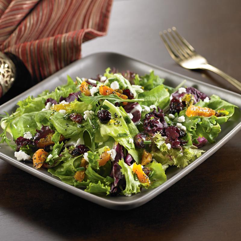 salade composée originale pour buffet froid laitue noix argumes