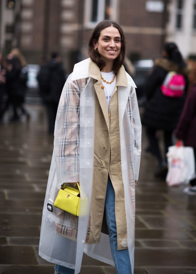 trench coat beige manteau de pluie femme jeans clairs femme