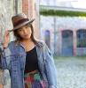 chapeau traveller idée chapeau gris chic femme automne hiver mode 2021 2022