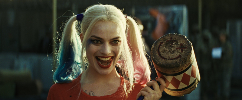 cosplay harley quinn harley quinn avec un sourir vilin