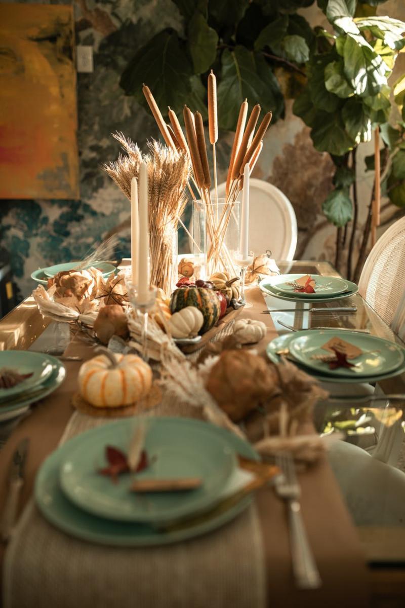idée déco maison pas cher déco de table à manger d halloween
