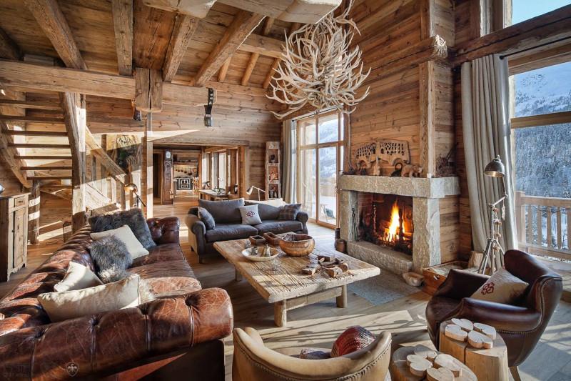 intérieur au style rustique