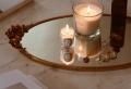 Déco plateau avec bougies pour cocooner son foyer cet automne-hiver